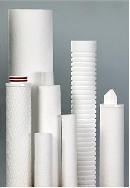 resin bonded filter